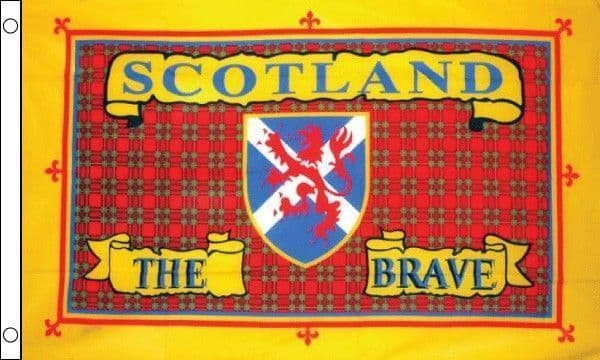 Scotland The Brave (Tartan ) Flag